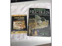 Two reptile books