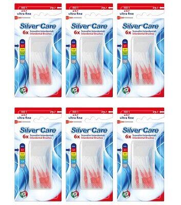 36 Scovolini Interdentali ultra fine SILVER CARE scovolino pulizia denti