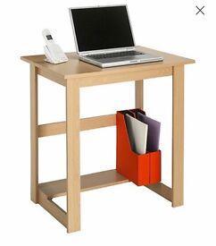 Beech Effect Desk Table - £15