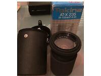 In The Box - Tokina AT-X 235 Camera Lens In Original Branded Case