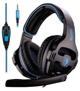 Gaming Headset with Mic for PS4 Xbox One PC Headphones