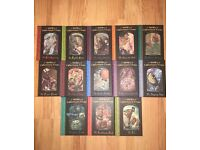 A Series Of Unfortunate Events Complete Set of 13
