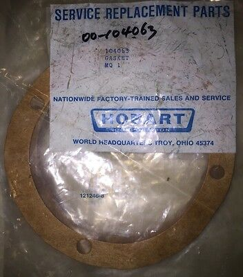 Hobart Dishwasher Gasket Genuine Part 00-104063 104063