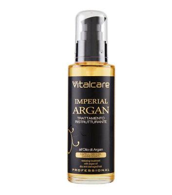 Umstrukturierung Öl (VITALCARE IMPERIAL Argan-Öl Behandlung Umstrukturierung Alle' OlIch 100 ml)