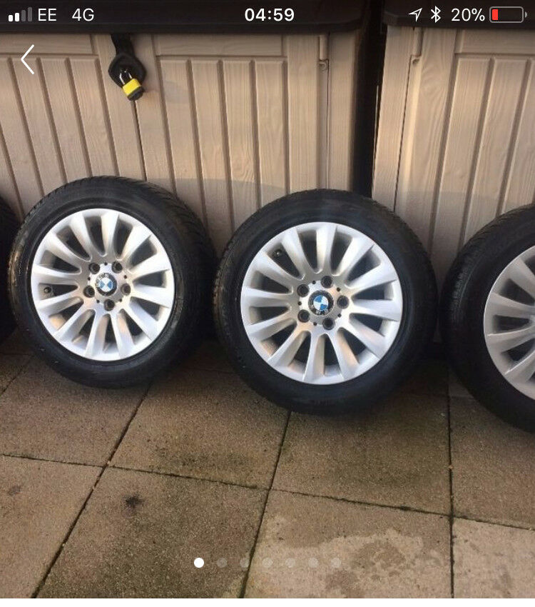 BMW WINTER TYRES and WHEELS