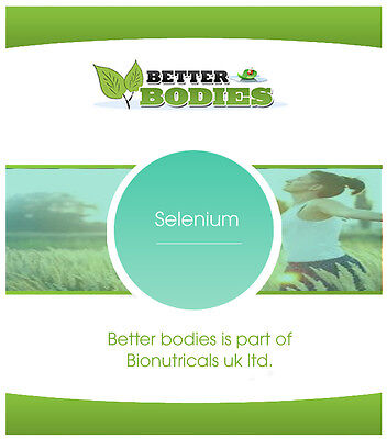 Selenium 200mcg Antioxidant Tablets Pills Immune System Thyroid Skin Made In UK