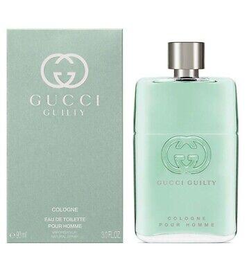 Gucci Guilty Cologne Pour Homme Parfüm für Männer Edt Eau De Toilette 90 Ml Neu