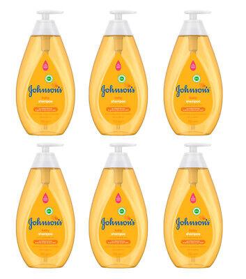 6 Stk JOHNSON'S Baby Shampoo Kinder Empfindliche Produkte für Haar 750