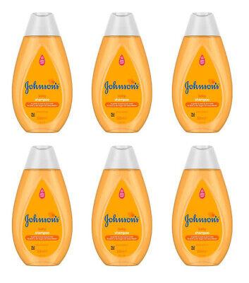 6 Stk JOHNSON'S Baby Shampoo Kinder Empfindliche Produkte für Haar 300
