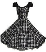 Vintage Tartan Dress