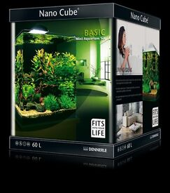 Dennerle 60L Nano Cube Tank with Lid