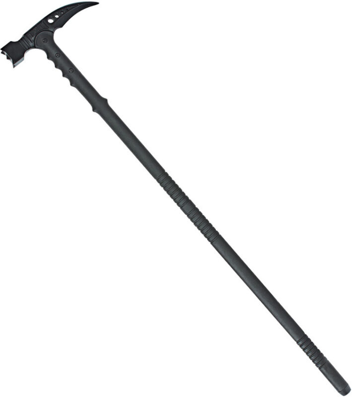 United Cutlery M48 Kommando Black Axe Head Tactical Survival Hammer Cane 2960