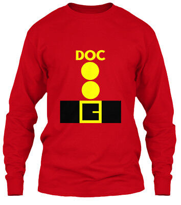Halloween Costumes 7 Dwarfs (7 Dwarfs Halloween Costume Doc - Gildan Long Sleeve Tee)