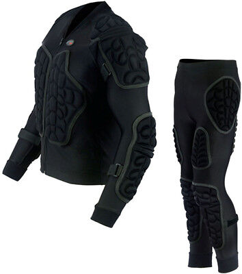 BODY ARMOUR SKIING SKATING SNOWBOARDING MOTORBIKE IMPACT PADDED SPINE PROTECTION