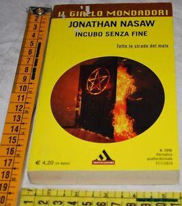 NASAW-Jonathan-INCUBO-SENZA-FINE-Il-Giallo-Mondadori-2996