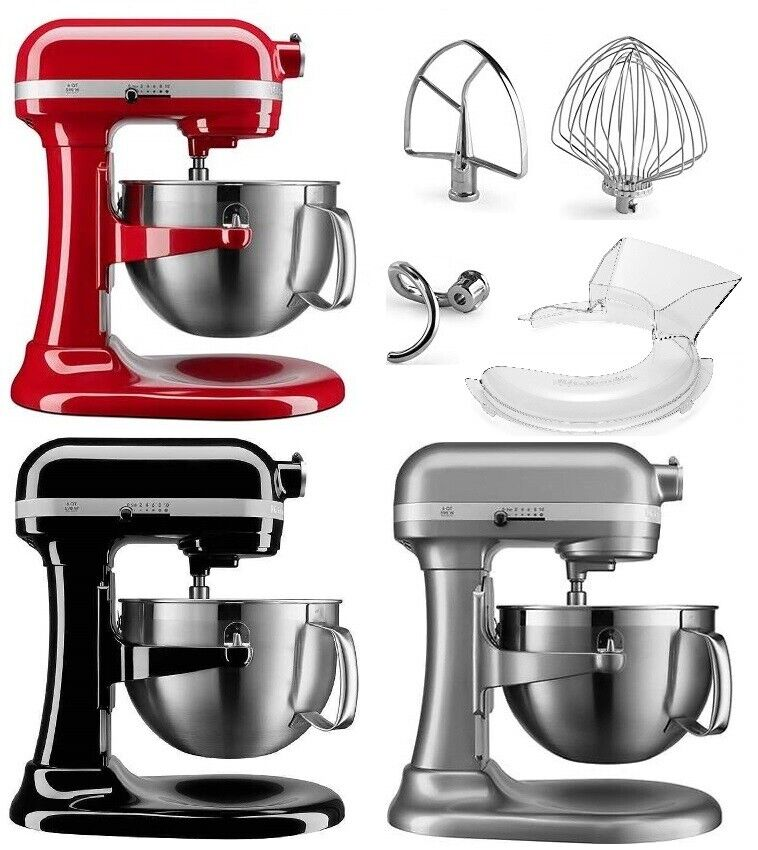 KitchenAid 6-QT 590 W Bowl Lift Mixer 10-Speed Multi Color A