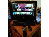 HP TOUCHSMART 310 .TV-kodi Touchscreen