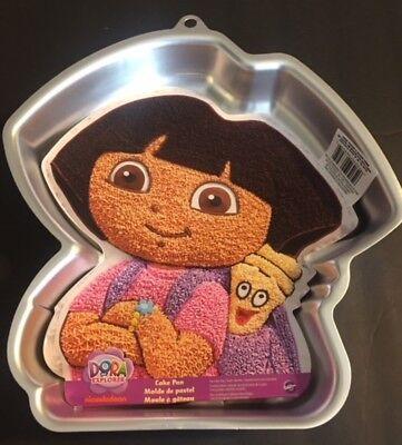 WILTON DORA THE EXPLORER CAKE PAN birthday party theme free shipping](Dora Themed Birthday)