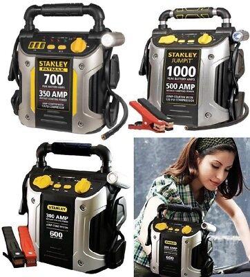 (Battery Jump Starter Air Compressor Peak Portable Car Charger Booster Stanley )