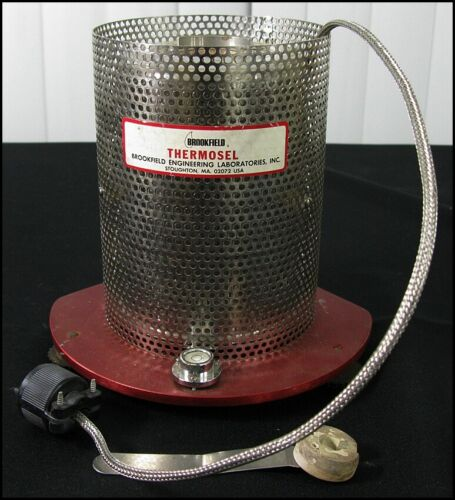 Brookfield Engineering Thermo Container for Thermosel System Hot Metal Viscosity