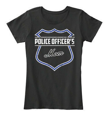 Police Mom For Women's Premium Tee T-Shirt