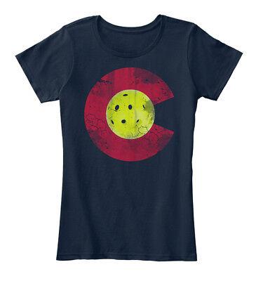 Colorado Pickleball Womens Premium Tee T Shirt