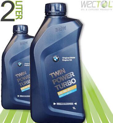 2 x 1 L BMW TwinPower Turbo 0W-30 Motoröl Longlife-04 2 Liter 83212465854