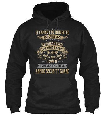 Armed Security Guard My Blood Gildan Hoodie Sweatshirt