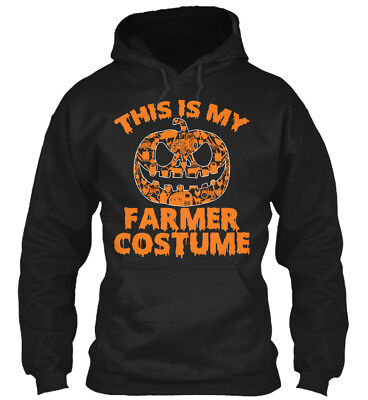 My Farmer Costume Pumpkin Halloween Gildan Hoodie Sweatshirt