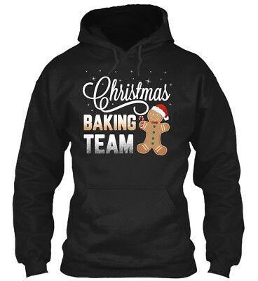 Christmas Baking Team Gingerbread Candy Gildan Hoodie Sweatshirt
