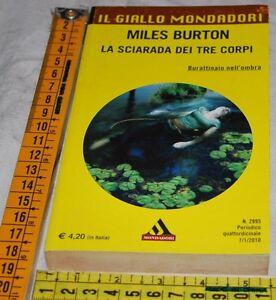 BURTON-Miles-LA-SCIARADA-DEI-TRE-CORPI-Il-Giallo-Mondadori-2995