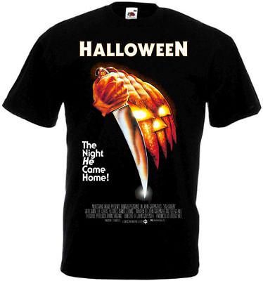 Halloween Movie Poster T shirt Black all