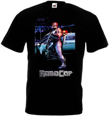 Movie 4t (ROBOCOP v4 T-shirt black movie poster all sizes)