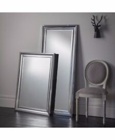 New Bowen Large modern Tall 5 ft Leaner silver chrome mirror List £129 SALE £79 available today
