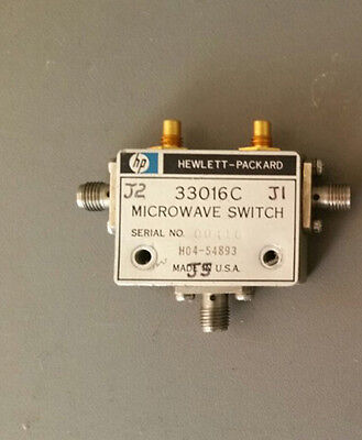 Agilent HP 33016C Microwave Switch