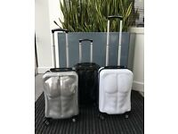 Ripped Luggage Cabin Suitcases