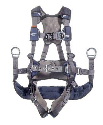 Dbi Sala Exofit Nex Tower Climbing Harness With Tongue Buckle Leg Straps New