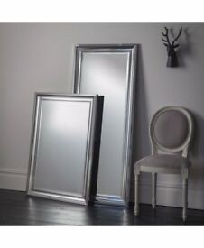 New Bowen Large Tall 5 ft Leaner silver chrome mirror £79