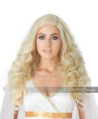 California Costumes Golden Angel Perücke Blond Damen Halloween Kostüm 70942
