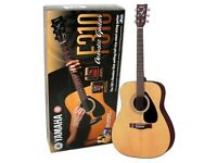 Yamaha Acoustic Guitar (Brand New)