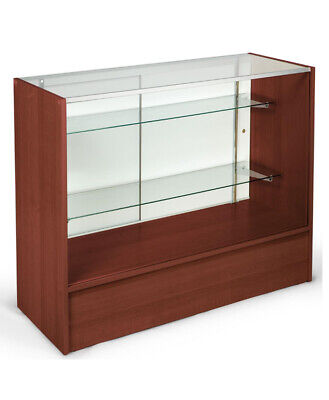 4 Full Vision Showcase - Knock Down Cherry Display Case - Sc4c