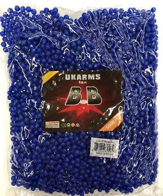 Airsoft BB Gun Bullets 5000 pcs 0.12 Gram 6mm UKARMS Best Quality BB's