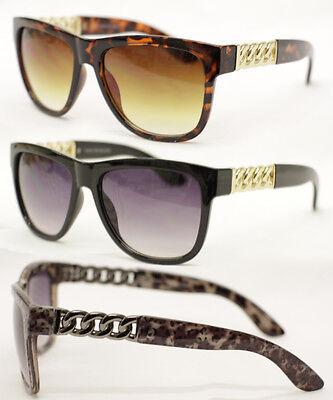 Cuban link chain Hip Hop Sonnenbrille Medusa schwarz gold tortoise silber 593