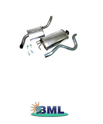 L R RANGE ROVER CLASSIC EXHAUST SILENCER AND TAIL PIPE ASSEMBLY . PART - ESR560