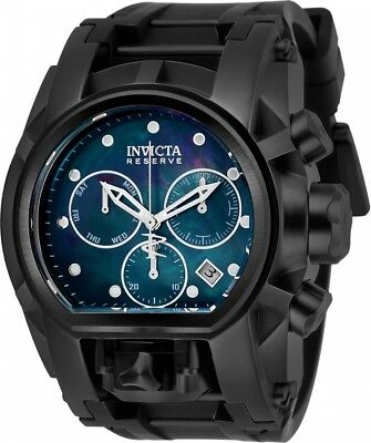 New Mens Invicta Reserve Bolt Zeus Magnum Swiss Chronograph Watch