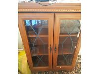 Display Cabinet - A Beautiful piece of furniture from early century in immaculate condition.. £30
