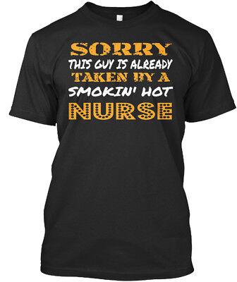 Hot Guy Nurse (Taken By Nurse - Sorry This Guy Is Already A Smokin' Hot Premium Tee)