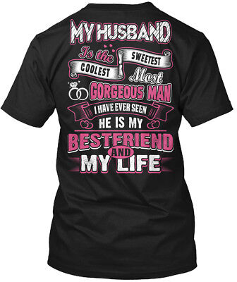 My Husband Is Best Friend! - I Will Always Love You Hanes Tagless Tee
