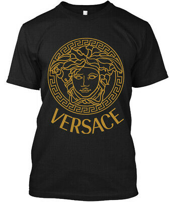 RARE ITEMS Versac Golden Classic Retro Medusa  T-SHIRT S-2XL