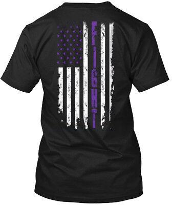 Lupus Awareness Fight Flag   Hanes Tagless Tee T Shirt